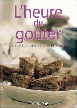 Couverture du livre : L'heure du goûter