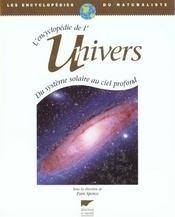 Couverture du livre : L'encyclopédie de l'univers - Du système solaire au ciel profond
