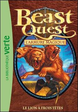Couverture du livre : Beast Quest, tome 14 : Le lion à trois têtes