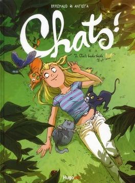 Couverture du livre : Chats !, tome 2 : Chats bada-bada