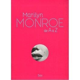 Couverture du livre : Marilyn Monroe de A à Z