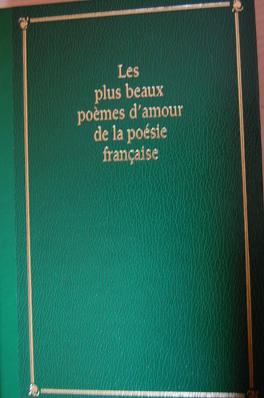 Couverture du livre : Les plus beaux poèmes d'amour de la poésie française