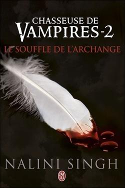 Couverture de Chasseuse de vampires, Tome 2 : Le Souffle de l'archange