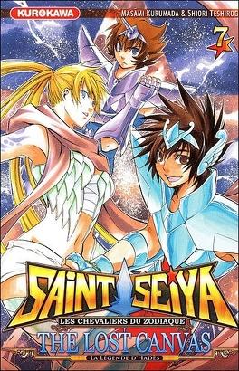 Couverture du livre : Saint Seiya - The Lost Canvas, Tome 7