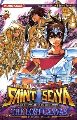Couverture du livre : Saint Seiya - The Lost Canvas, Tome 2