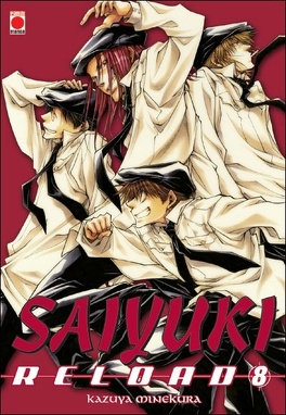 Couverture du livre : Saiyuki reload, tome 8