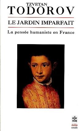 Couverture du livre : Le jardin imparfait : la pensée humaniste en France