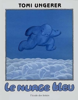 Couverture du livre : Le nuage bleu