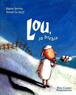 Couverture du livre : Lou, la brebis