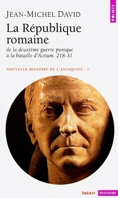 Couverture de Nouvelle histoire de l'antiquité, tome 7 : La République romaine