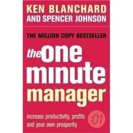 Couverture du livre : The One Minute Manager