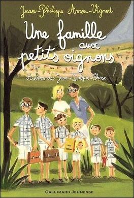 Couverture du livre : Une famille aux petits oignons