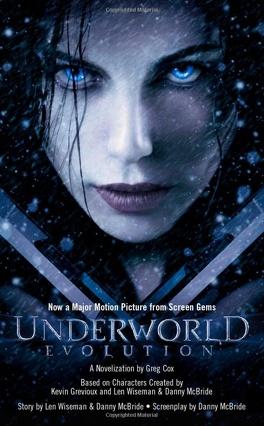 Couverture du livre : Underworld #3: Evolution