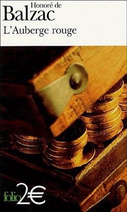 Couverture du livre : L'Auberge rouge