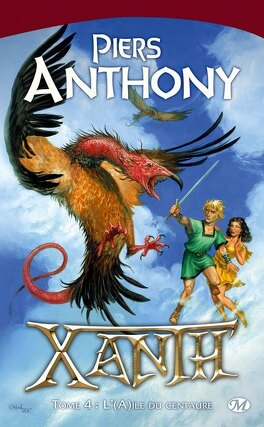 Couverture du livre : Xanth, tome 4 : L'(A)ile du centaure