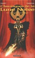 Chroniques de la Lune Noire, tome 10 : L'aigle foudroyé