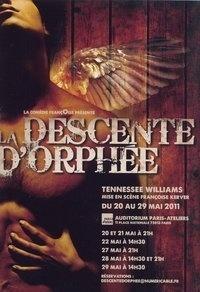 Couverture du livre : La Descente d'Orphée