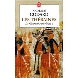 Couverture de Les Thébaines, Tome 1 : La Couronne insolente