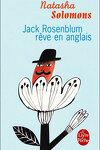 couverture Jack Rosenblum rêve en anglais