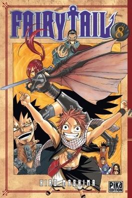 Couverture du livre : Fairy Tail, Tome 8
