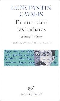 Couverture du livre : En attendant les barbares et autres poèmes