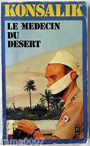 Couverture du livre : Le médecin du désert