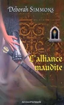 Couverture du livre : Les frères de Burgh, Tome 2 : L'alliance maudite