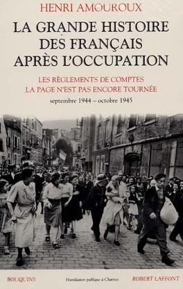 Couverture du livre : La grande histoire des Français sous l'Occupation