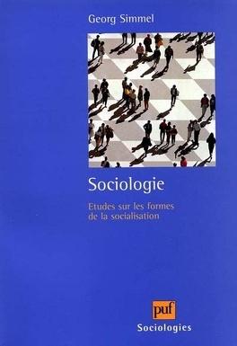 Couverture du livre : Sociologies : études sur les formes de la socialisation