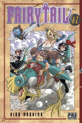Couverture du livre : Fairy Tail, Tome 11