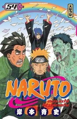 Couverture du livre : Naruto, Tome 54 : Un pont pour la paix