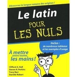 Couverture du livre : Le latin pour les nuls