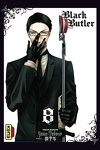 couverture Black Butler, Tome 8