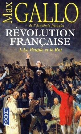 Couverture du livre : Révolution française, Tome 1 : Le Peuple et le Roi