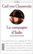 La campagne d'Italie