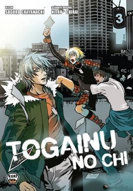 Couverture du livre : Togainu no Chi, Tome 3