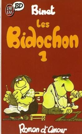 Couverture du livre : Les Bidochon, tome 1 : Roman d'amour