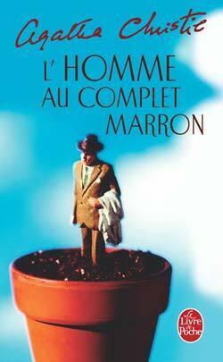 Couverture du livre : L'Homme au complet marron