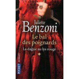 Couverture du livre : Le Bal des Poignards, Tome 1 : La Dague au Lys Rouge
