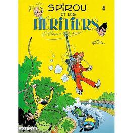 Couverture du livre : Spirou et Fantasio, Tome 4 : Spirou et les héritiers