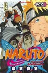 couverture Naruto, Tome 56 : L'Équipe d'Asuma réunie !