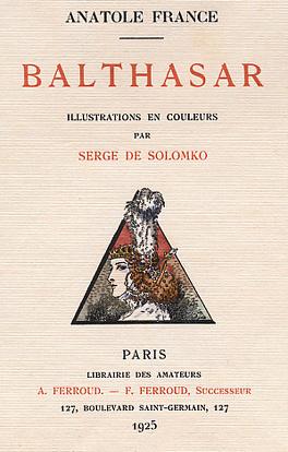 Couverture du livre : Balthasar