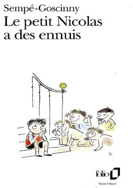 Couverture du livre : Le petit Nicolas a des ennuis