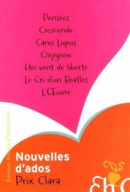 Couverture du livre : Nouvelles d'ados : Prix Clara 2011