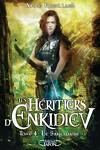 couverture Les Héritiers d'Enkidiev, Tome 4 : Le Sanctuaire