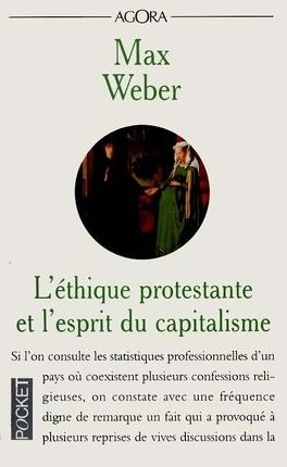 Couverture du livre : L'Éthique protestante et l'esprit du capitalisme