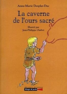 Couverture du livre : La caverne de l'ours sacré