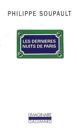 Couverture du livre : Les dernières nuits de Paris