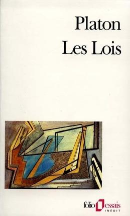 Couverture du livre : Les lois : extraits
