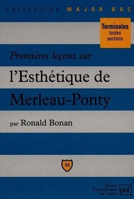 Couverture du livre : Premières leçons sur l'Esthétique de Merleau-Ponty